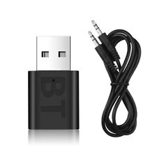 Ricevitore dongle USB bluetooth 4.0 + cavo AUX 3.5mm per streaming audio in auto