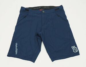 Troy Lee Designs Skyline Navy Blue Unlined Cycling Shorts Mens 38