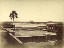 Photo Albuminé Inde Taj Mahal Agra Vers 1870/80