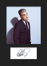 ROBBIE WILLIAMS #4 Signed Photo Print A5 Mounted Photo Print - FREE DELIVERY