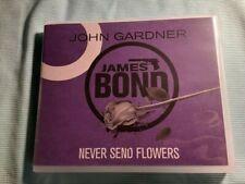 Never Send Flowers by John Gardner James Bond Audiobook CD