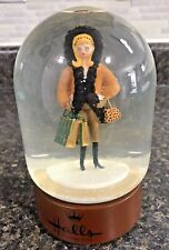 Vintage Halls Hallmark Kansas City Country Club Plaza Musical Snow Globe Dome