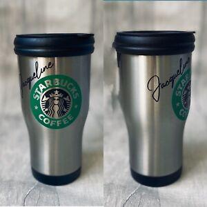 Personalised Starbucks Travel Mug, Any Name