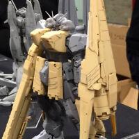 (B_1091)1/144 Nu Gundam + HWS equipment Unpainted Resin Parts Kit