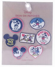 New listing Disney Mickey Mouse Iron On Patches By Junk Food