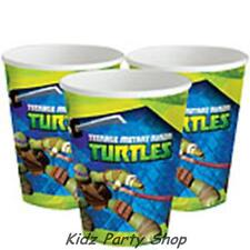 Teenage Mutant Ninja Turtles Party - 8 Paper Cups 266ml - Free Post in UK