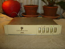 Orban 8100A/ST, Optimod-FM, Compressor, Limiter Gate, Vintage Rack, As Is