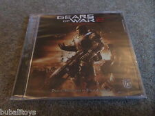 Steve Jablonsky - Gears of War 2 Video Game Soundtrack CD NEW SEALED! Epic Games