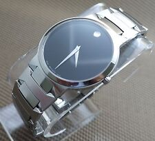 AUTHENTIC SWISS MOVADO TEMO S.STEEL MODEL# 0605903 MEN'S WATCH,RETAIL $1095