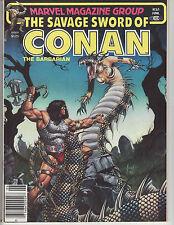 SAVAGE SWORD OF CONAN #65 VF/NM