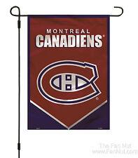 Montreal Canadiens Premium 2-sided Garden Window Flag Banner Hockey FD - NO POLE