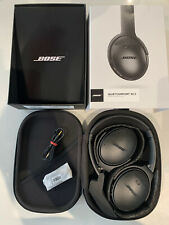 Bose QuietComfort 35 Series II Wireless Noise Cancelling NC Headphones - Black