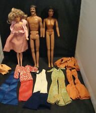 Lot Of Mego1970s Sonny & Cher + Farrah & Another Doll Parts + Clothes!
