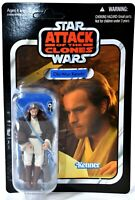 Kenner UNPUNCHED Star Wars VC31 Obi-Wan Kenobi Jedi Action Figure NIB d871