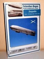 KARTONMODELLBAU Zeppelin D-LZ 140     SCHREIBER-BOGEN 586 Cardboard Model