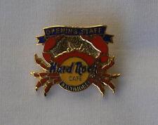 Hard Rock Cafe pin BALTIMORE opening staff crab