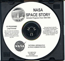 NASA SPACE AUDIO - NASA Space Story On 1 MP3 Format CD - 63 Eps From (1994-1995)