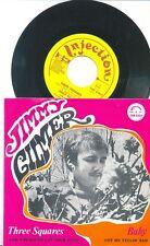 JIMMY GILMER-THREE SQUARES-RARE ORIGINAL DUTCH PS 45rpm '60s-INJECTION-POP/BEAT