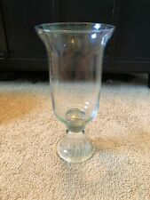 NIB SOUTHERN LIVING At Home THE HEMINGWAY HURRICANE  Glass Vase EUC