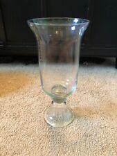 NIB SOUTHERN LIVING At Home THE HEMINGWAY HURRICANE  Glass Vase EUC