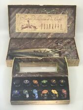 The Writing Collection Quill And Colorful Prose Bottles of Ink