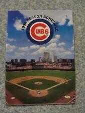 L#13  1994 Chicago Cubs pocket schedule, NrMt condition