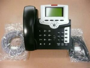 Tadiran T208M/BL Backlit 4 Button VoIP Telephone  w/o Power Supply