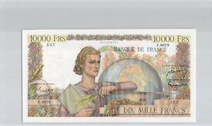 France 10 000 Francs Génie Français 3.3.1955 F.8079 n° 201955237 Pick 132d
