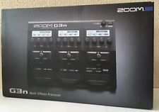 NEW ZOOM G3n multi effector From JAPAN