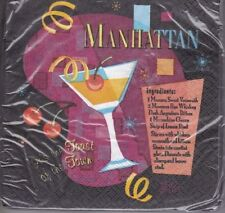 Special Occasion Manhattan Recipe 16 Ct 2 Ply Paper Napkins Toast of the Town