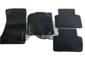 PORSCHE CAYENNE FLOOR MATS *DARK GRAY/BLACK grey OEM 3C0864523 🏁