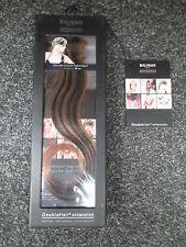 Balmain Paris Double Hair Volume Colour 30cm extension 3pcs Contrast Brown L8/1B