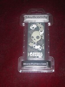 Skullcandy Silicone iPod Nano-Case ISN Grey NEW NIP