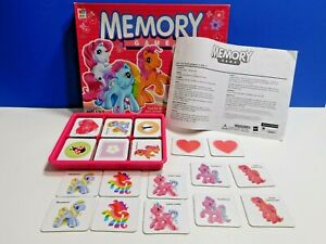 My Little Pony Edition Memory Matching Game Milton Bradley 2003 COMPLETE 41498