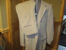 Vintage Mens 42L The Comfort Suit 3 Piece Brown houndstooth