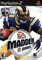 Madden NFL 2003 - Electronic Arts - Sony PlayStation 2 PS2 - Disc Only