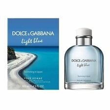 D&G Light Blue Swimming In Lipari 4.2 oz 125ml Spray For Men