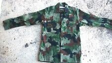 SMALL SIZE Serbian army m93 camouflage shirt  Bosnia serbia military war m89