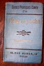 Guide CONTY VICHY en Poche 1902 Carte finale présente