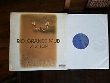 ZZ Top Rio Grande Mud original vinyl LP: NM jacket: NM