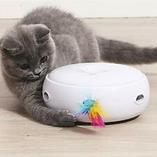 HAPPY HACHI Cat Toy Interactive Feather Smart Kitten Teaser Toy Electronic Auto