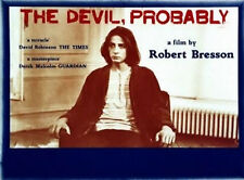 DEVIL PROBABLY 1977 Robert Bresson UK QUAD POSTER