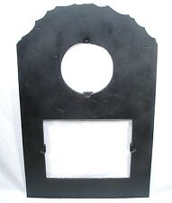 ANTIQUE CAST IRON SURROUND DOOR FIRE PLACE WOOD COAL STOVE HEATER ADAPTER SCREEN