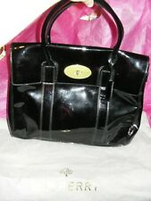 MULBERRY BAYSWATER PATENT LEATHER BAG