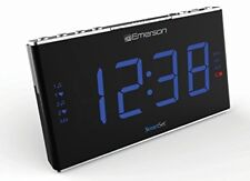 Emerson Smartset Sound Therapy Alarm Clock Radio with White Noise Nature Sounds