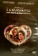 David Bowie Jennifer Connelly Labyrinth (DVD, 1999) LIKE NEW