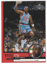 Michael Jordan 1999 Upper Deck Tribute All Star Game MVP Basketball Card