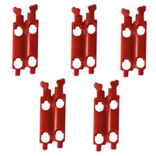 Scott USA Prospect MX Goggle Roll Off Lockers (5 Pack) - Red