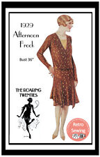 1920s Flapper Afternoon Frock Vintage Sewing Pattern - Copy