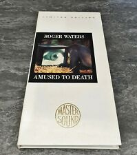 Roger Waters ‎Amused To Death 24 Karat Gold CD Longbox Limited Edition CK 53196